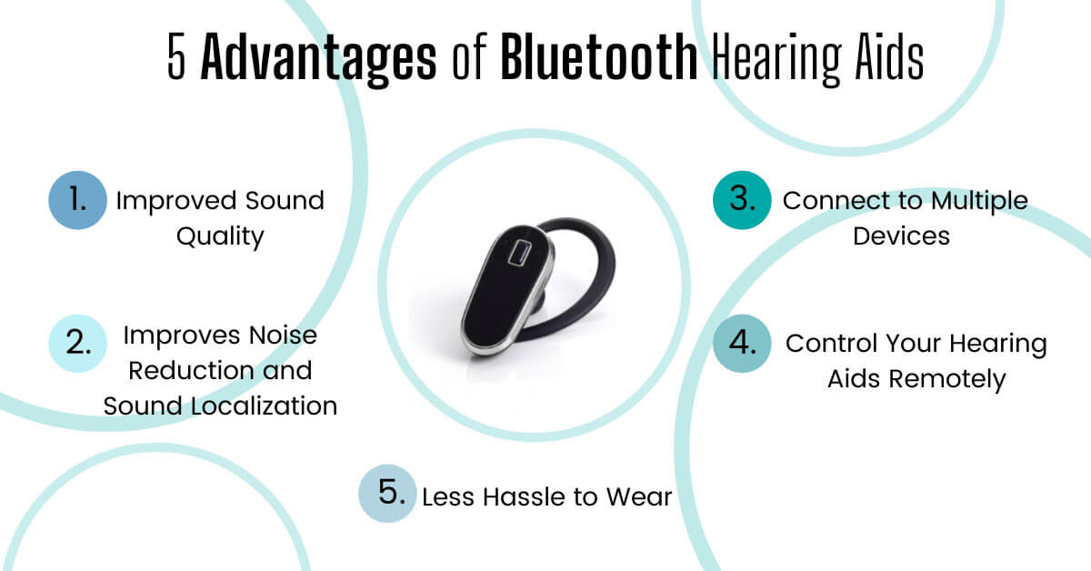 Advantages of Bluetooth Hearing Aids
