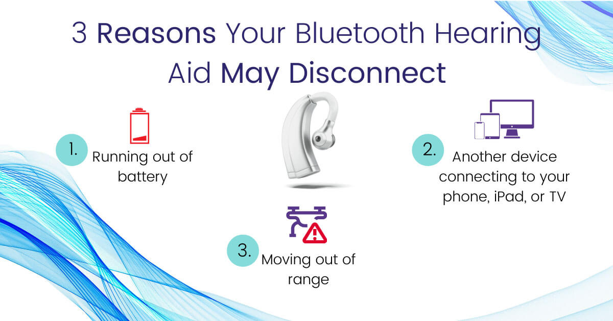 Reasons Your Bluetooth Hearing Aid May Disconnect